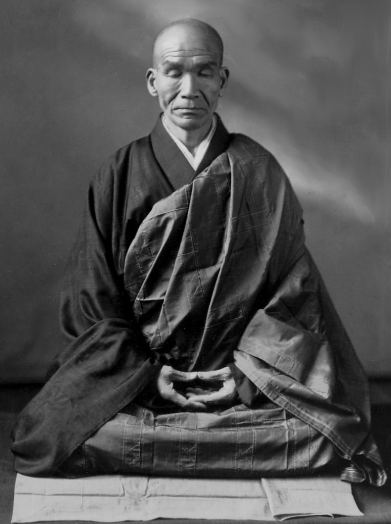 "Japanese Zen monk, Kodo SAWAKI 澤木興道老師 (1880-1965) - He is known for his rigorous emphasis on zazen, in particular the practice of shikantaza, or ""just sitting"". He often called Zen ""wonderfully useless,"" discouraging"