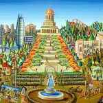 haifa-city-paintings-naive-art-paintings-artworks-by-raphael-perez